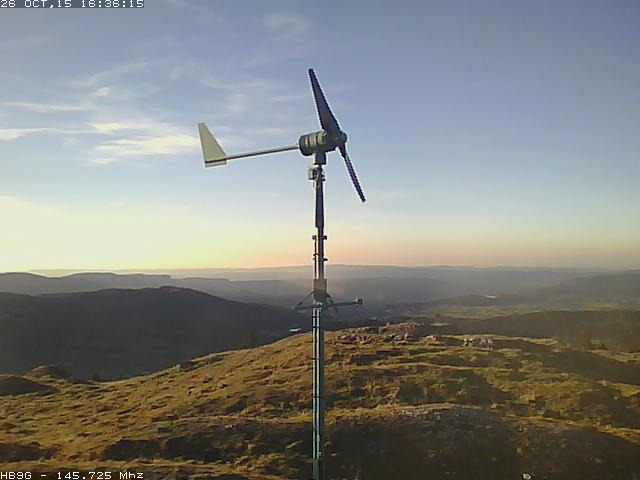 La webcam éolienne